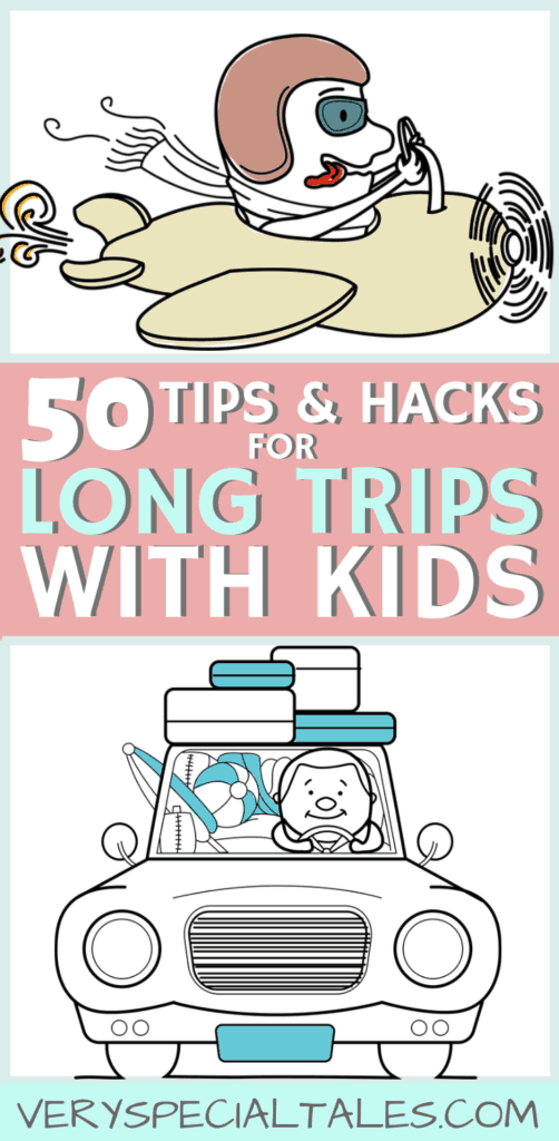50 Tips to Make Traveling with Kids Super Easy. Special Needs Tips included