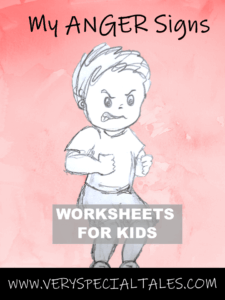 Anger Worksheets for Kids