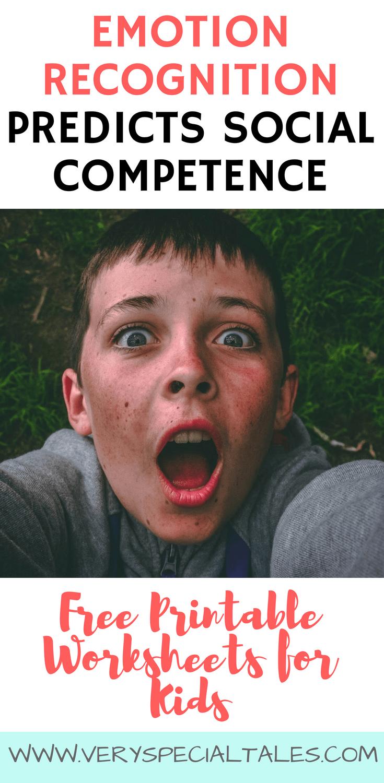 Emotion Recognition Anger Worksheets for Kids