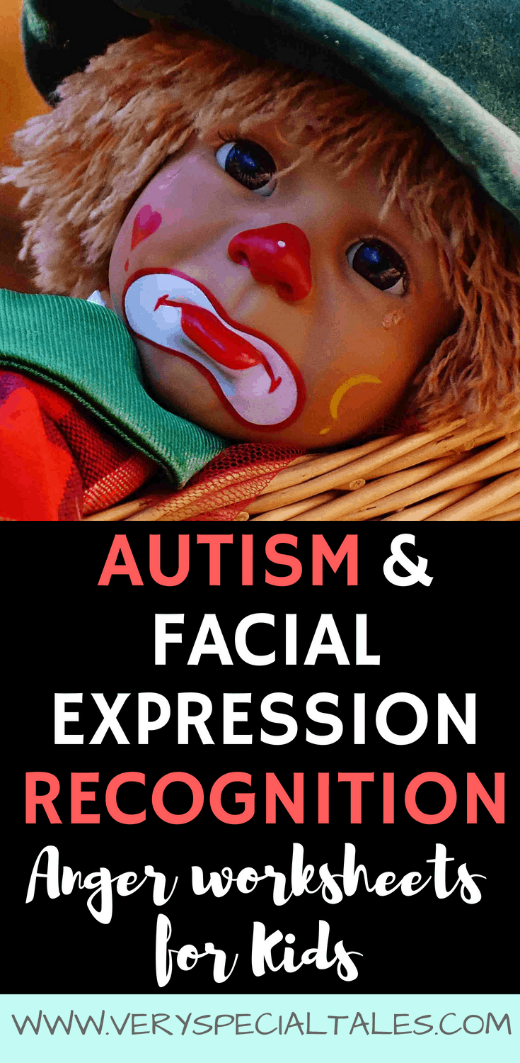 autism facial expression recognition worksheets