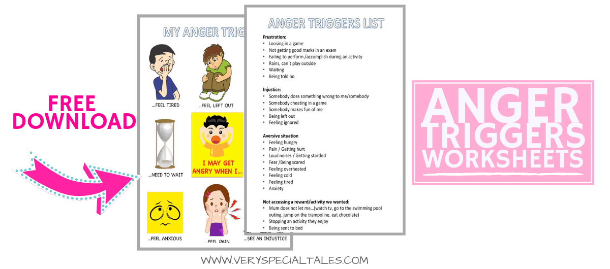 ANGER TRIGGERS WORKSHEET DOWNLOAD
