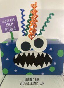 FEELINGS Box_Anger Management Activity for Kids