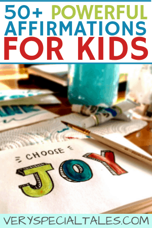 Teaching Powerful Positive Self-Talk to Kids