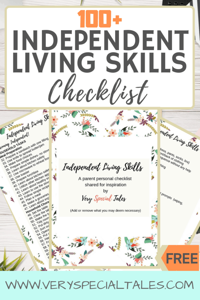 Independent Living Skills Checklist