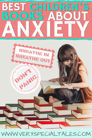 Best Children's Books About Anxiety pin