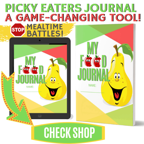 CHECK SHOP FOR OUR FOOD JOURNALS FOR PICKY EATERS