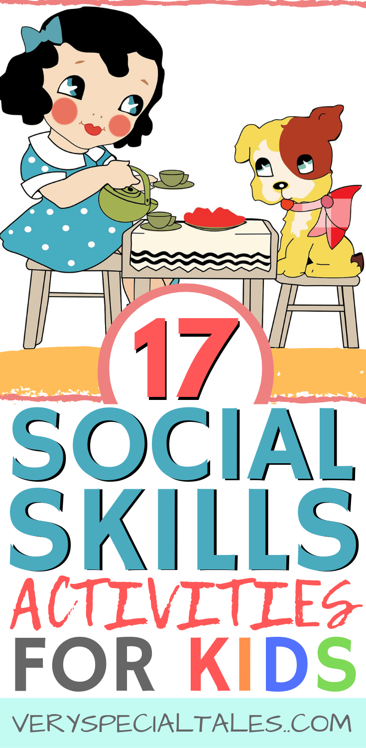 Social Skills Activities for Kids pin