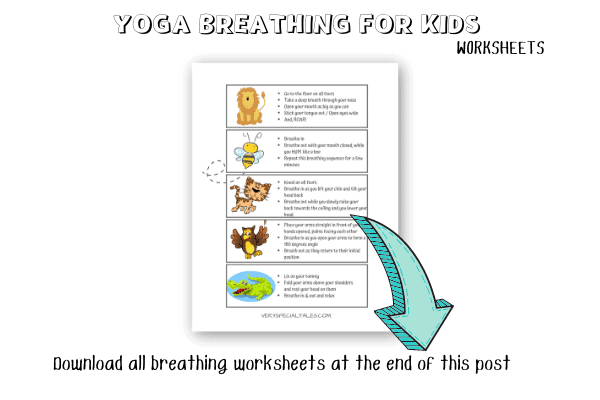 Yoga Breathing_Animal Breathing_Worksheet