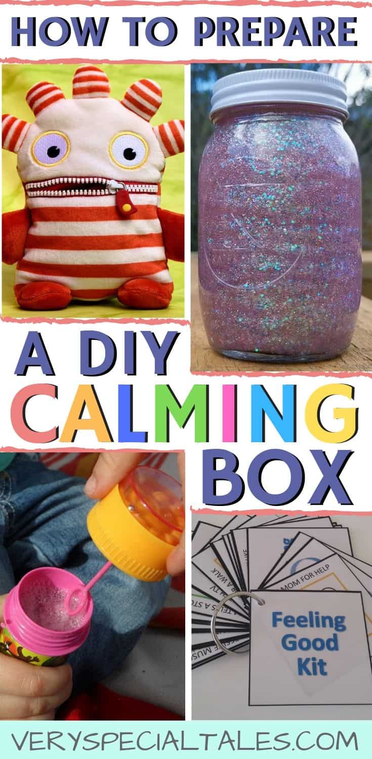 DIY Calming Box: what is a calming box and what do I put in a calming box
