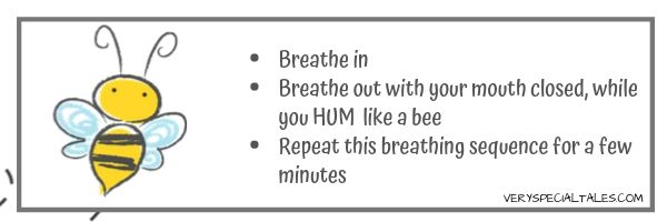 Bumble Bee Breath- Yoga Breathing Exercises for Kids VST