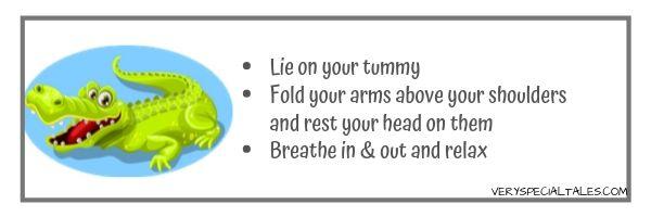 Crocodile Breathing- Yoga Breathing for Kids