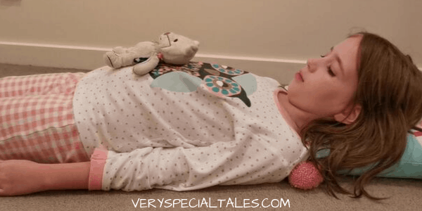 LEARNING BELLY BREATHING USING A PLUSH TOY