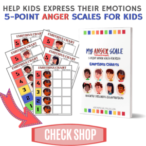 5 POINT ANGER SCALE FOR KIDS SIDE BAR