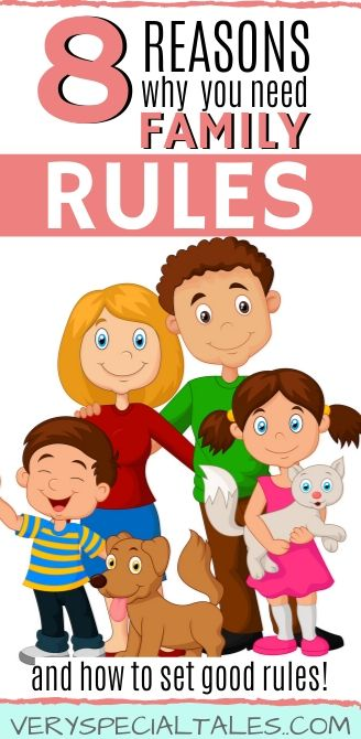 8 Reason why you need family rules and how to set good rules for kids