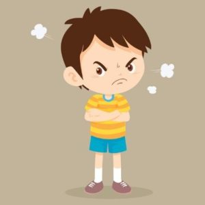 Child with behavior problems