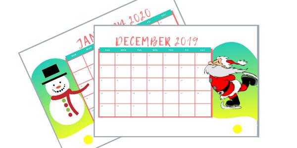 Free Christmas Calendar