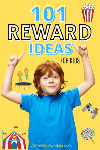 101 REWARD IDEAS FOR KIDS pin