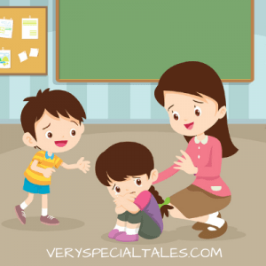 Anxious Kid in the Classroom