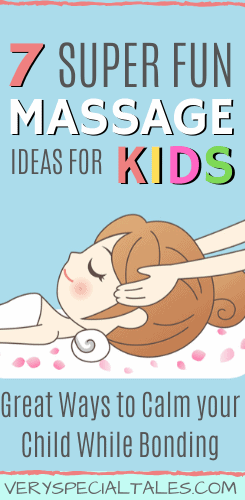 Fun Massage Ideas for Children that you can practice at Home