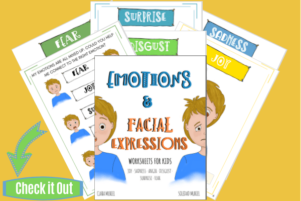 Emotions & Facial Expressions Worksheets for Kids