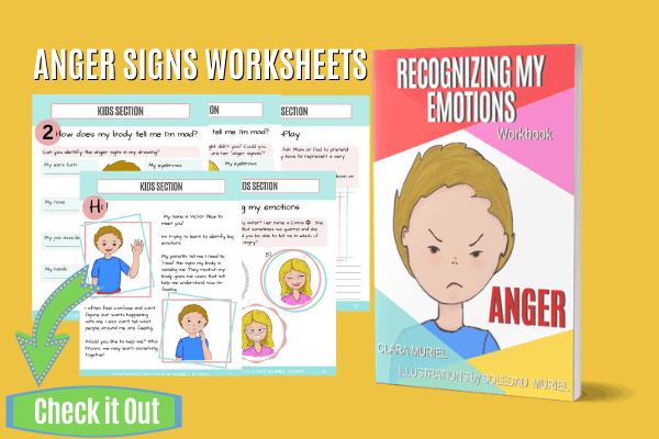 ANGER SIGNS WORKSHEETS