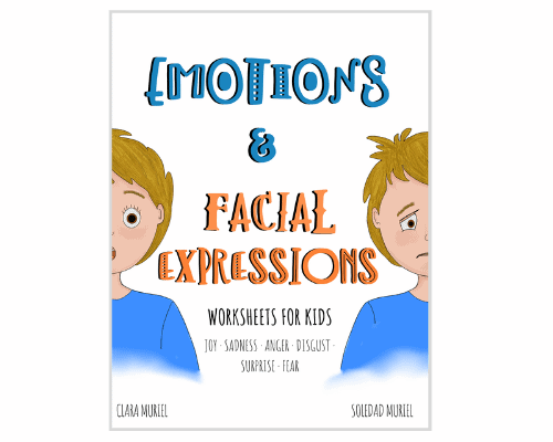 Emotions and Facial Expression Workbook for Kids_Cover