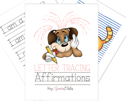 Positive Affirmations Worksheets_ Product Display