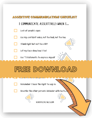 ASSERTIVE COMMUNICATION FOR KIDS CHEKCLIST_FREE DOWNLOAD