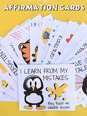 AFFIRMATION CARDS FOR KIDS