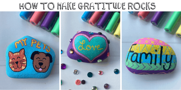 HOW TO MAKE GRATITUDE ROCKS_STEP BY STEP TUTORIAL