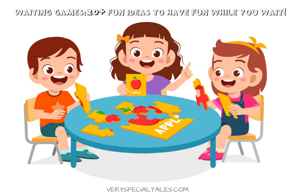 kids playing a board game _ 20 waiting games ideas