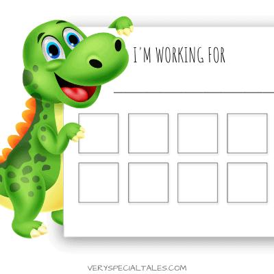 Rewards for Kids Dinosaur Token Chart