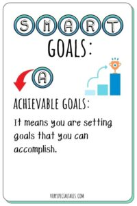 Attainable Goals Flashcard_SMART