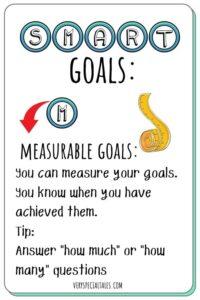 Measurable Goals Flashcard_SMART