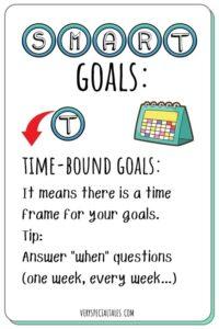 Time-Bound Goals Flashcard_SMART